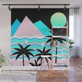 Hello Islands - Starry Waves Wall Mural