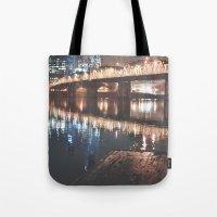 portland Tote Bags featuring Portland by Tasha Marie