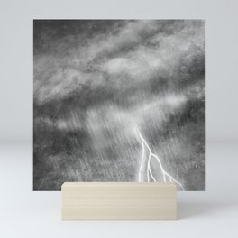 Thunderstorm  Mini Art Print