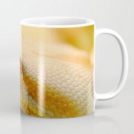 Albino Indian python Coffee Mug