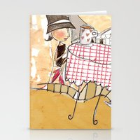 france Stationery Cards featuring France by Lee-or Atsmon Fruin