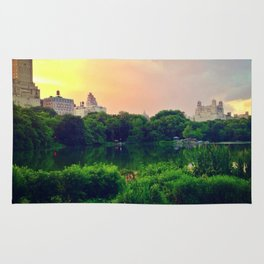 Daydream in central park Rug