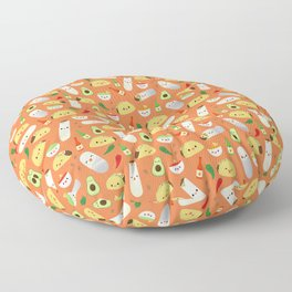 Tacos and Burritos Floor Pillow