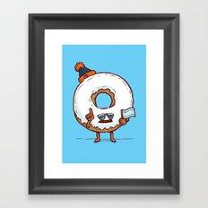 The Chicago Donut Framed Art Print