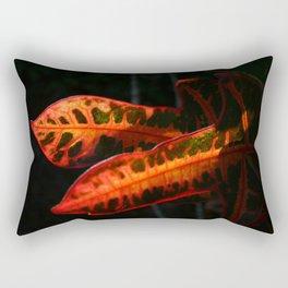 Dramatic Crotons DP161026a Rectangular Pillow