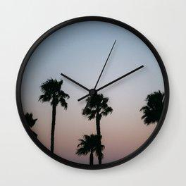 California Palm Tree's Wall Clock