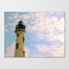 Cloudy at the Lighthouse Canvas Print