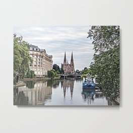 Surreal in Strasbourg Metal Print