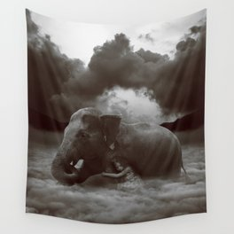 Soft Heart In a Cruel World Wall Tapestry