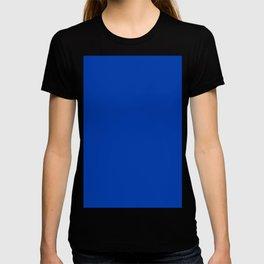 Royal Azure Color Solid Block T-shirt