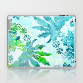 Tropical adventure - Blue Laptop & iPad Skin