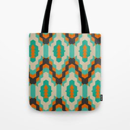 Ethnic winter pattern II Tote Bag
