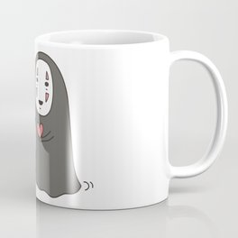 Studio Ghibli No-Face in Love of SootBall Coffee Mug