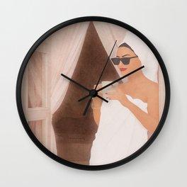 Morning Coffe III Wall Clock