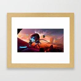 Laika II Framed Art Print