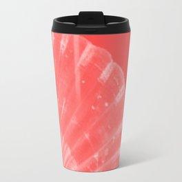 Coral Scallop Travel Mug