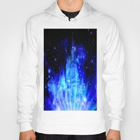 castle in the sky Hoodies featuring Enchanted Castle by WhimsyRomance&Fun