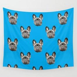 French Bulldog dog Wall Tapestry