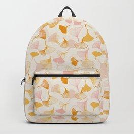 Ginko leaf pattern Backpack