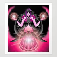 Viola the Mage II Art Print