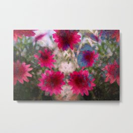 flowers abstract Metal Print