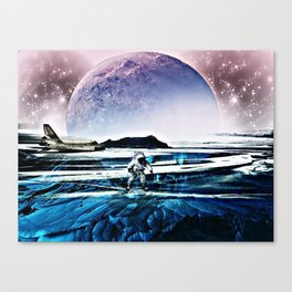 Translucent Planet by GEN Z Canvas Print