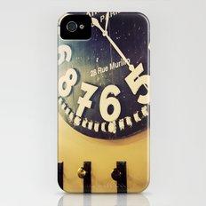 coffee shop Slim Case iPhone (4, 4s)