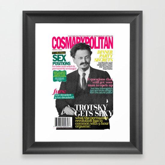 COSMARXPOLITAN, Issue 8 Framed Art Print