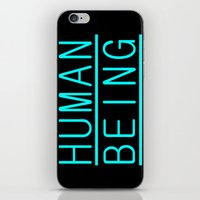 human iPhone & iPod Skins featuring Human by PsychoBudgie