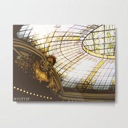 Beneath the rotunda Metal Print
