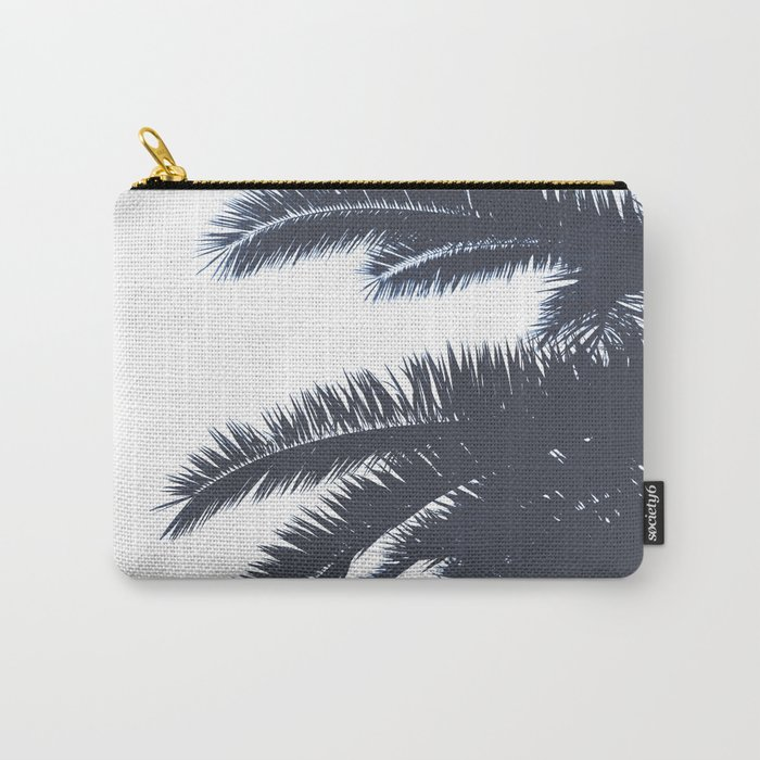 Palm Tree leaves abstract III Carry-All Pouch
