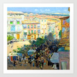 Childe Hassam Southern France Art Print