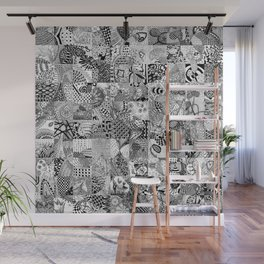 Doodling Together #3 Wall Mural