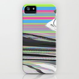 Scrambled thoughts iPhone Case