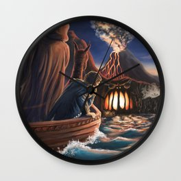 Gates of Hell Wall Clock