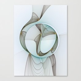 Abstract Elegance Canvas Print