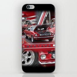 1966 Mustang  iPhone Skin