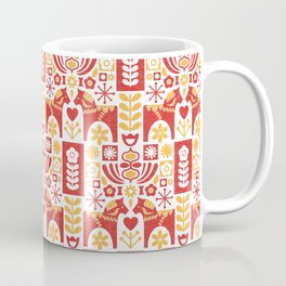 Swedish Folk Art_Mid-Century Modern Coffee Mug
