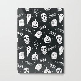 Boo Metal Print