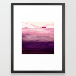 Ultra Violet Day Framed Art Print