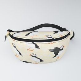 Puffin Pattern Fanny Pack