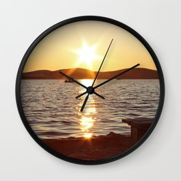Photo of Silver Lake Wall Clock