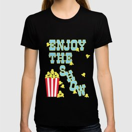 ENJOY THE SHOW - POPCORN PARTY T-shirt
