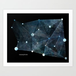 Connecting The Void Art Print