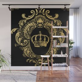 Gold Crown Wall Mural