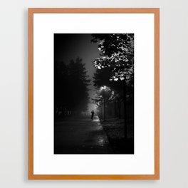 Alone in the Dark Framed Art Print