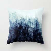 brussels Throw Pillows featuring Brussels by Mina & Jon