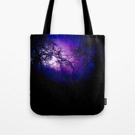 Tree silhouettes Tote Bag