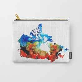 Canada - Canadian Map By Sharon Cummings Carry-All Pouch