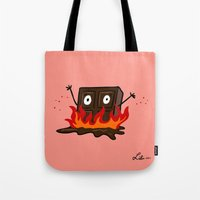 Spicy Chocolate Tote Bag